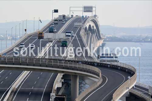 都心からのアクセスも海ほたるで千葉の木更津まで行けるから便利です