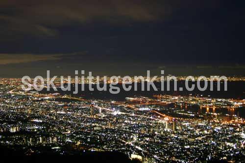 神戸の眠らない夜景を一度見たら虜になること間違いありません!
